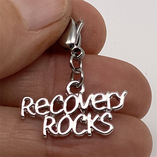 """Recovery Rocks"" Charm"