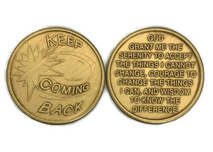 "Bronze ""Keep Coming Back"" Medallion"