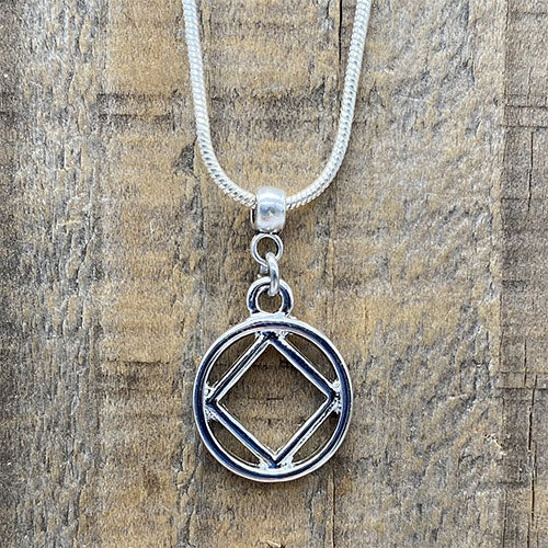 Narcotics Anonymous Silver Pendant