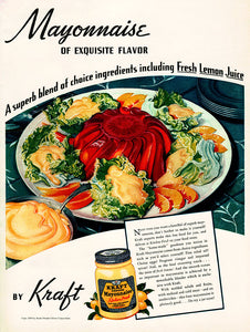 Original 1939 Kraft Mayonnaise Ad