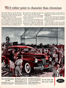 Original 1941 Ford Car Ad