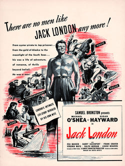 1943 Jack London Movie Ad