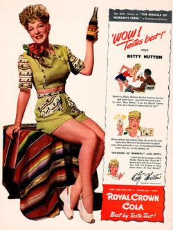 1943 Royal Crown Cola Ad