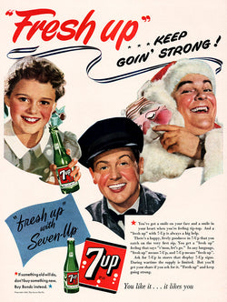 1943 7-Up Soda Ad