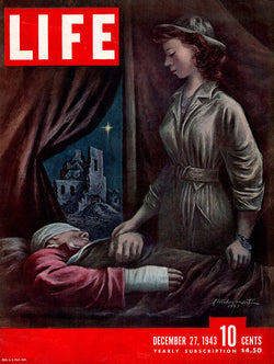 1943 WWII Life Magazine Cover