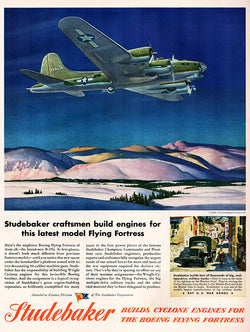 1944 Studebaker Engines Ad