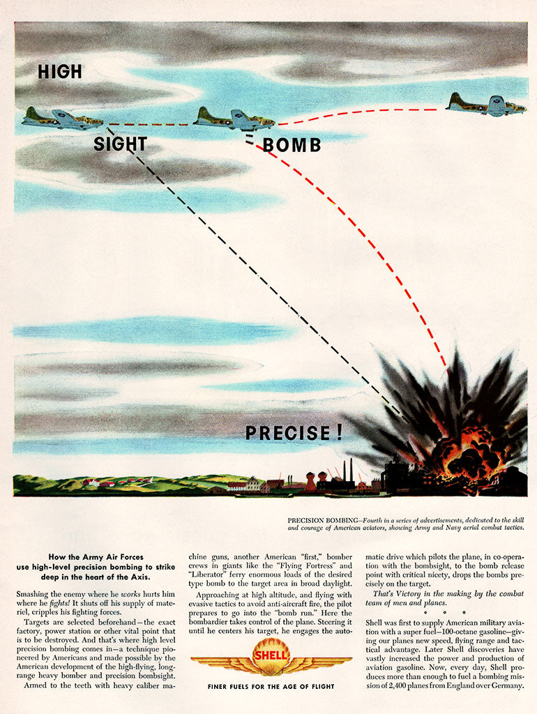Original 1944 Shell Fuel Ad