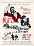 1945 Can't Help Singing Movie Ad