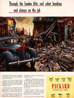 1945 Packard Motors Ad
