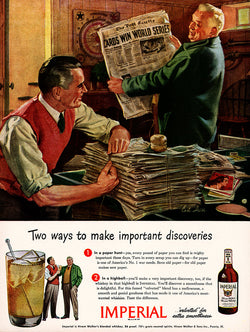 1945 Imperial Whiskey Ad