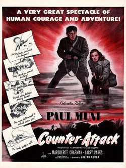 1945 Counter-Attack Movie Ad