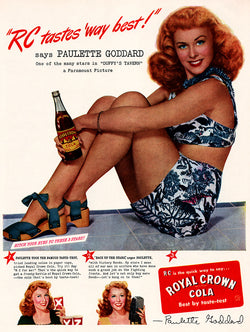 1945 Royal Crown Cola Ad