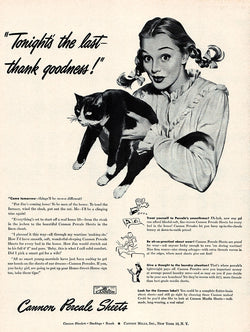 1946 Cannon Mills Ad