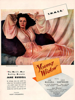 1946 Young Widow Movie Ad