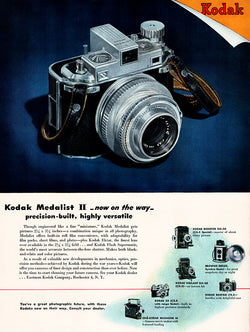 1946 Kodak Camera Ad