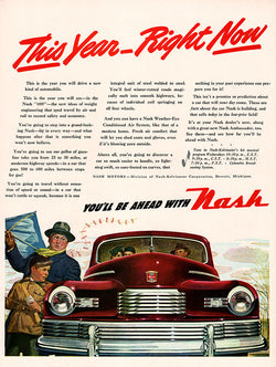 1946 Nash Car Ad