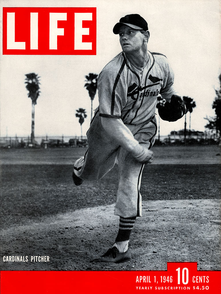 1946 Red Barrett Life Magazine Cover