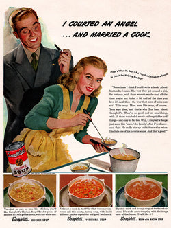 1946 Campbell's Soup Ad