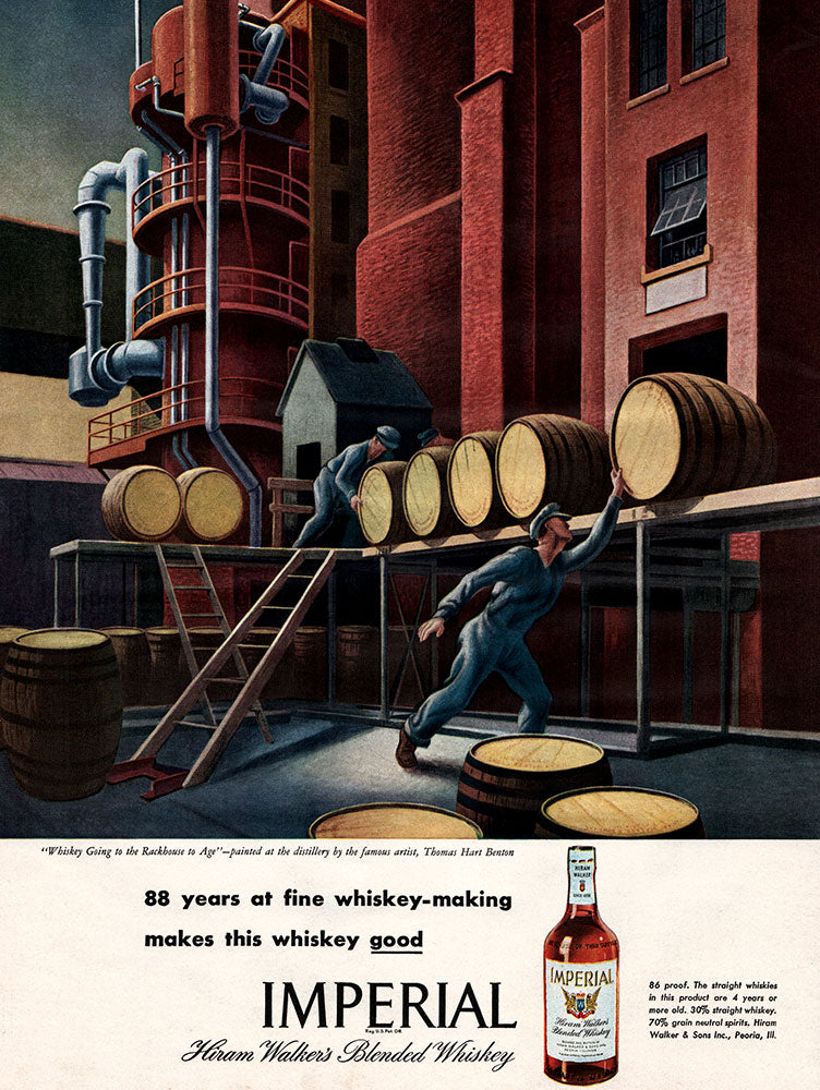 Original 1946 Imperial Whiskey Ad