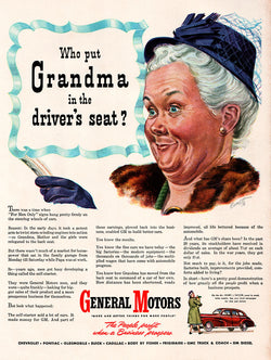 1946 General Motors Cars Ad
