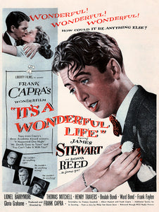 "Original 1946 ""It's a Wonderful Life"" Movie Ad"