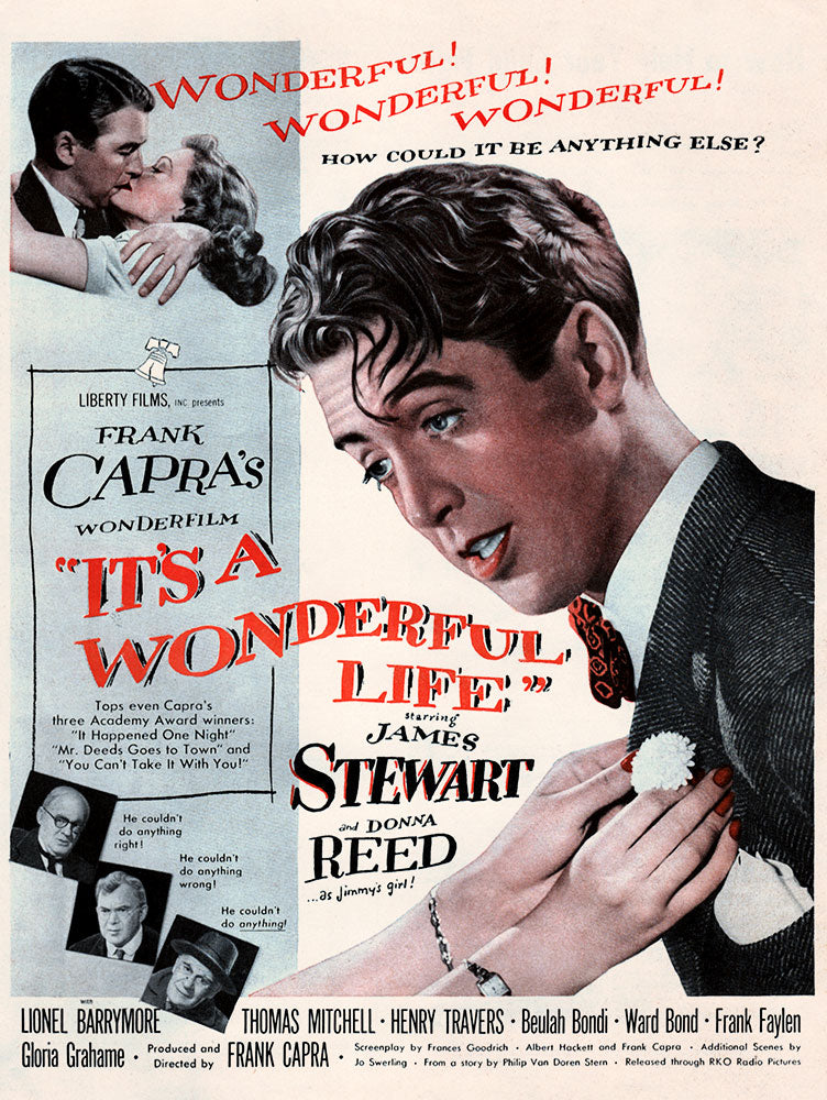 1946 It's a Wonderful Life Movie Ad