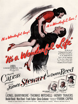 1947 It's a Wonderful Life Movie Ad