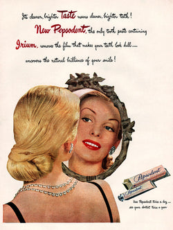 1947 Pepsodent Toothpaste Ad