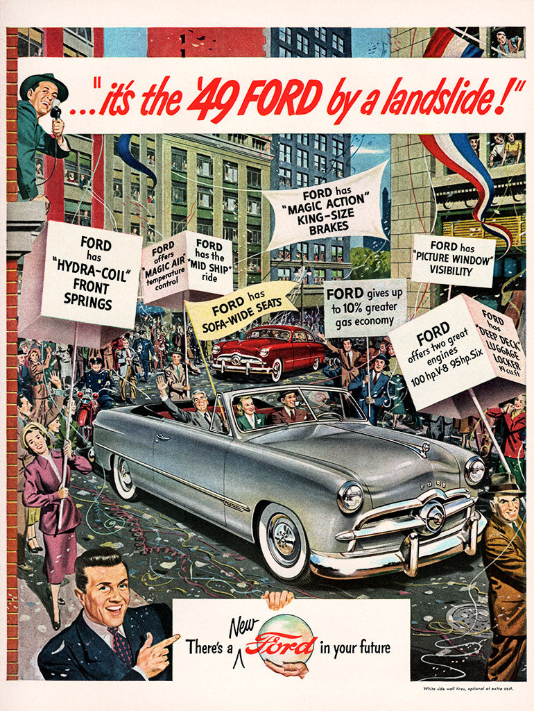1948 Ford Car Ad