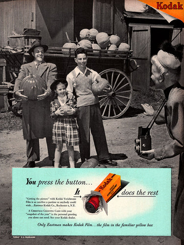 Original 1948 Kodak Film Ad