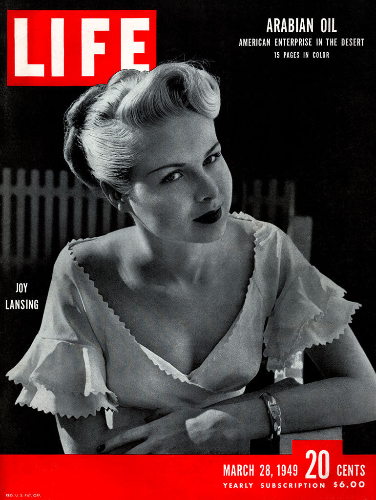 1949 Joy Lansing Life Magazine Cover