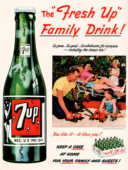 1951 7-Up Soda Ad