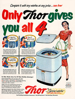 1951 Thor Washer Ad