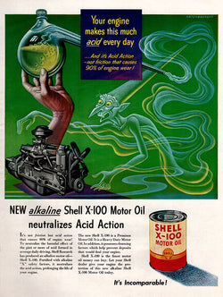 1951 Shell Motor Oil Ad
