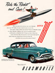 1951 Oldsmobile Super 88 Car Ad
