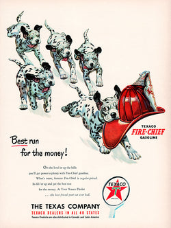 1951 Texaco Dealers Ad