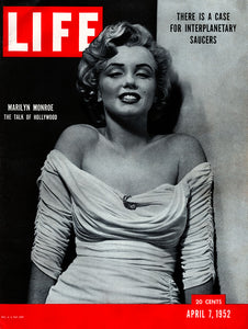 "Original 1952 ""Marilyn Monroe"" Life Magazine Cover"