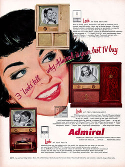 1953 Admiral TV Ad
