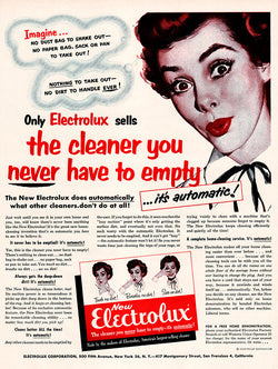 1953 Electrolux Ad