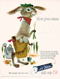 1953 Pep-O-mint Life Savers Ad