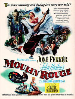 1953 Moulin Rouge Movie Ad