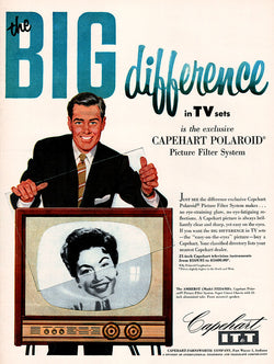 1955 Capehart TV Set Ad