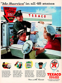 1956 Texaco Dealers Ad