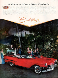 Original 1957 Cadillac Car Ad