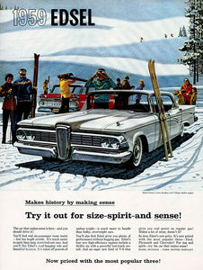 Original 1959 Ford Edsel Ad
