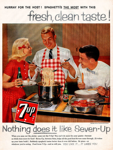 1959 7-Up Soda Ad