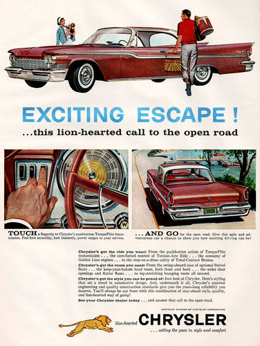 1959 Chrysler Car Ad