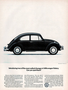 Original 1966 Volkswagen Car Ad