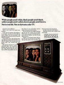 Original 1969 Sylvania Color Television Ad