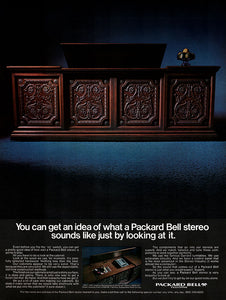 1969 Packard Bell Stereo Ad